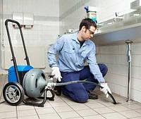 Прочистка канализации до стояка