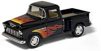 Модель автомобиля Chevy Stepside Pick-up 1955 в масштабе 1 : 32 (Kinsmart KT5330WF)