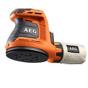 Аккумуляторная эксцентриковая шлифмашина AEG BEX18-125-0