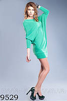 Платье свободного покроя, создана интересным конструктивным решением-9529