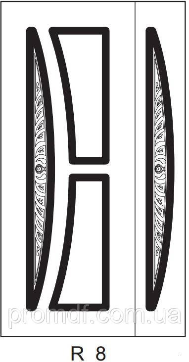 Накладки МДФ, художественная резьба+патина