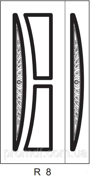 Накладки МДФ, художня різьба+патина
