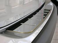накладка на зад бампер без загиба Volkswagen  T4