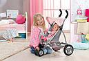 Коляска для кукол Беби Борн прогулочная с козырьком Baby Born  Zapf Creation 821367, фото 4