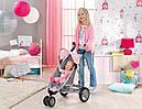Коляска для кукол Беби Борн прогулочная с козырьком Baby Born  Zapf Creation 821367, фото 5