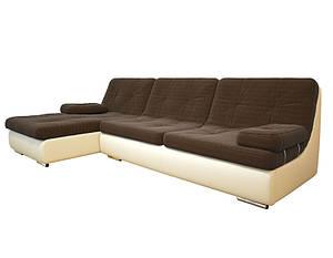 Угловой раскладной диван с подлокотниками Сканди, ткань (303см-182см) (3 цвета в наличии)