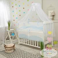 Сменный комплект детского постельного белья Тiny Love Tutti голубой 3 предметов