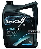 Масло WOLF GUARDTECH 10W40 B4  ✔ емкость 5л.