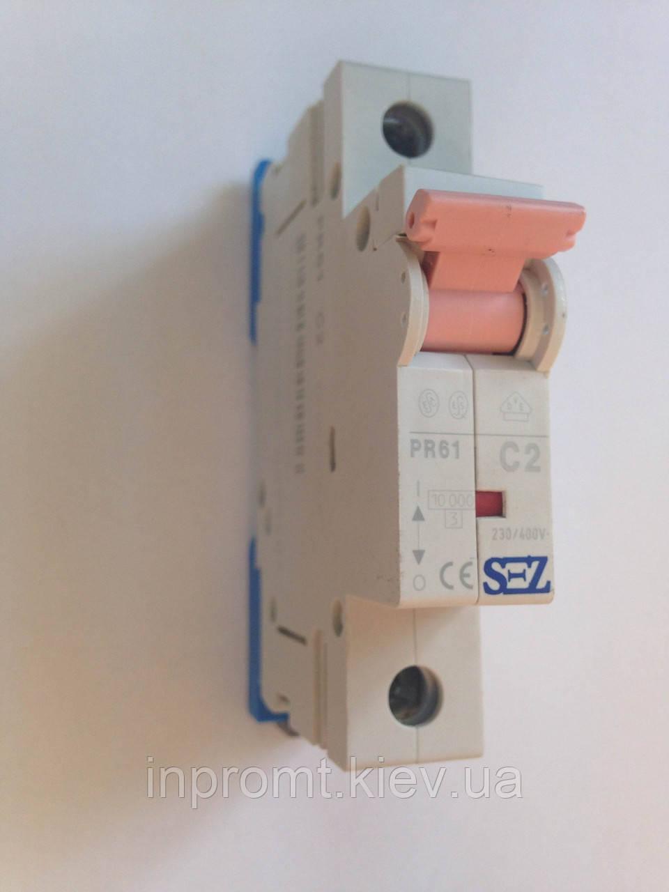 Автоматический выключатель PR61С2