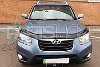 Дефлектор Капота Мухобойка Hyundai Santa Fe 2007-2012