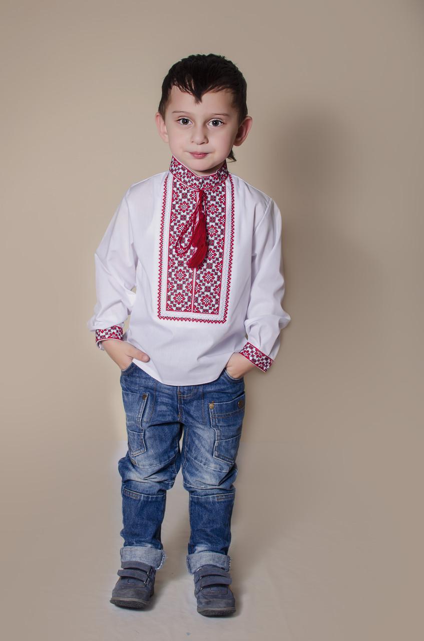 Вишиванка для хлопчика  Святослав батист - Nikashop в Киеве 737b3107564eb