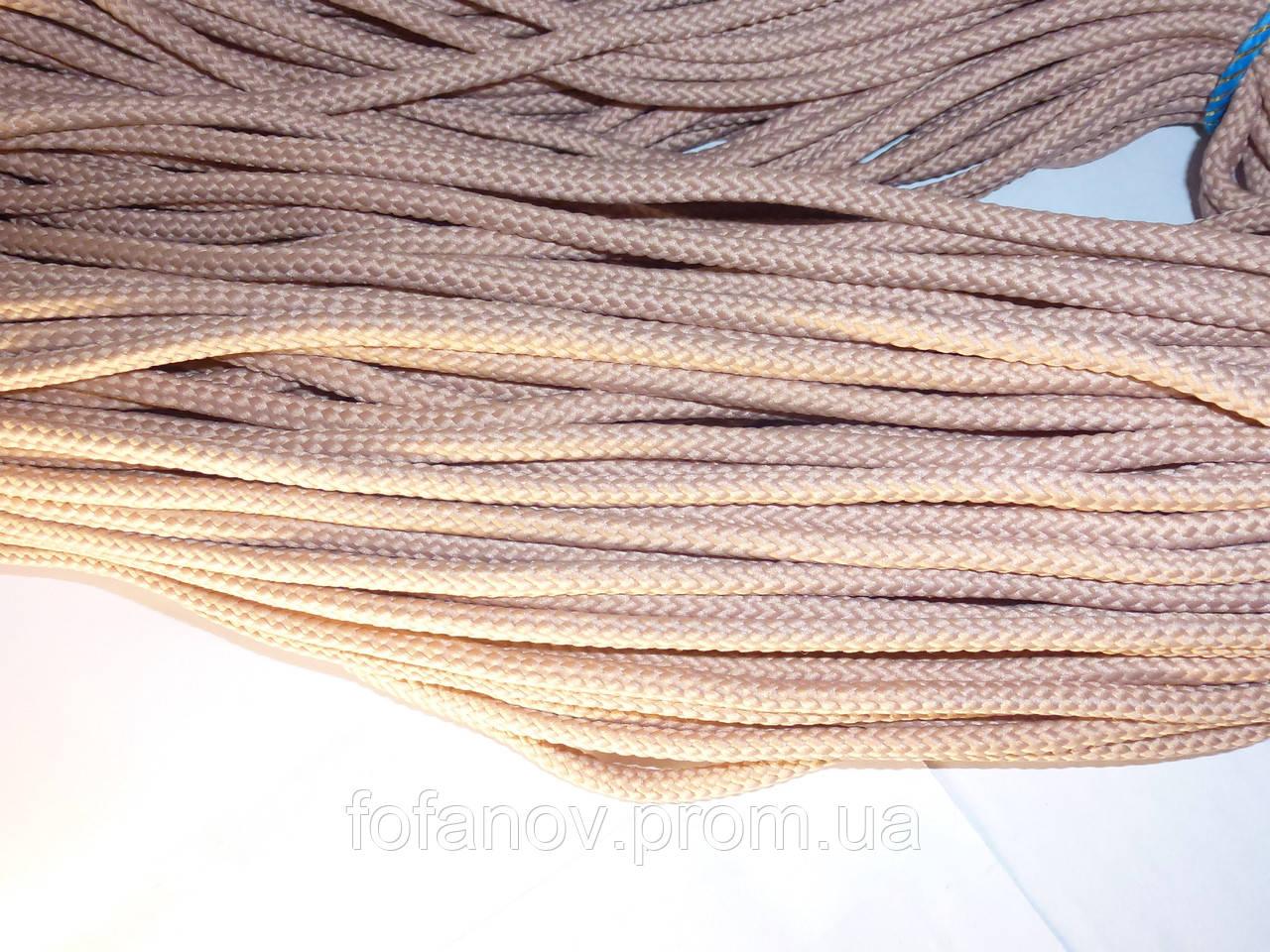 шнур 4 мм для вязания ковра полиэфирный 100 м купить в киеве пряжа