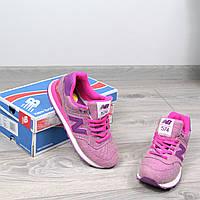 Кроссовки женские New Balance розовые,  спортивная обувь