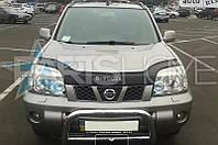 Дефлектор Капота Мухобойка Nissan X-Trail 2001-2006