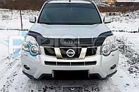 Дефлектор Капота Мухобойка Nissan X-Trail с 2007 г.в.