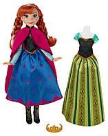 Hasbro  FRZ Кукла Холодное Сердце со сменным нарядом Анна ( В5169)
