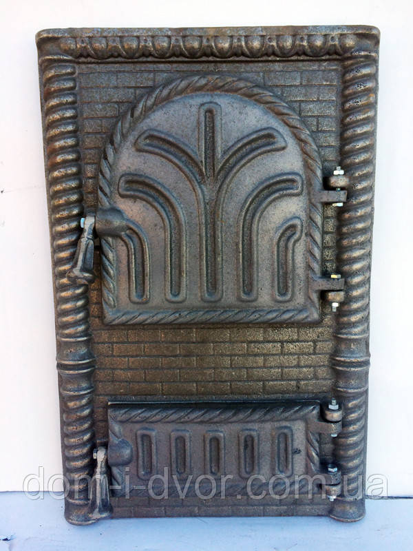 Дверцы чугунные для печи (печные) Трость,чугунные  дверки