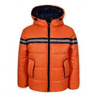 Детская демисезонная куртка для мальчика СПАРТА оранжевая, р.98