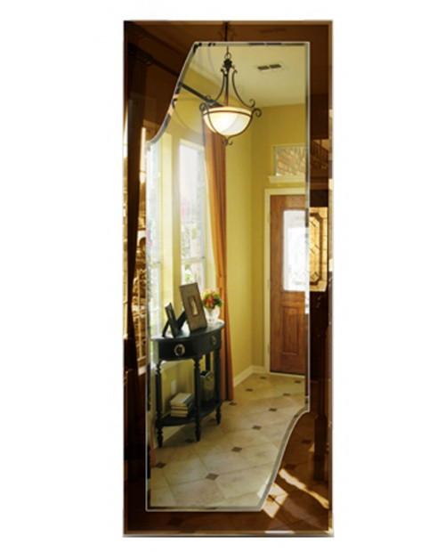 Прямоугольное зеркало с оригинальным декором
