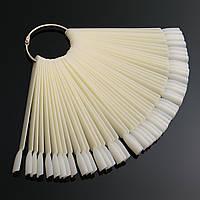 Палитра - веер на кольце матовая, 50 образцов
