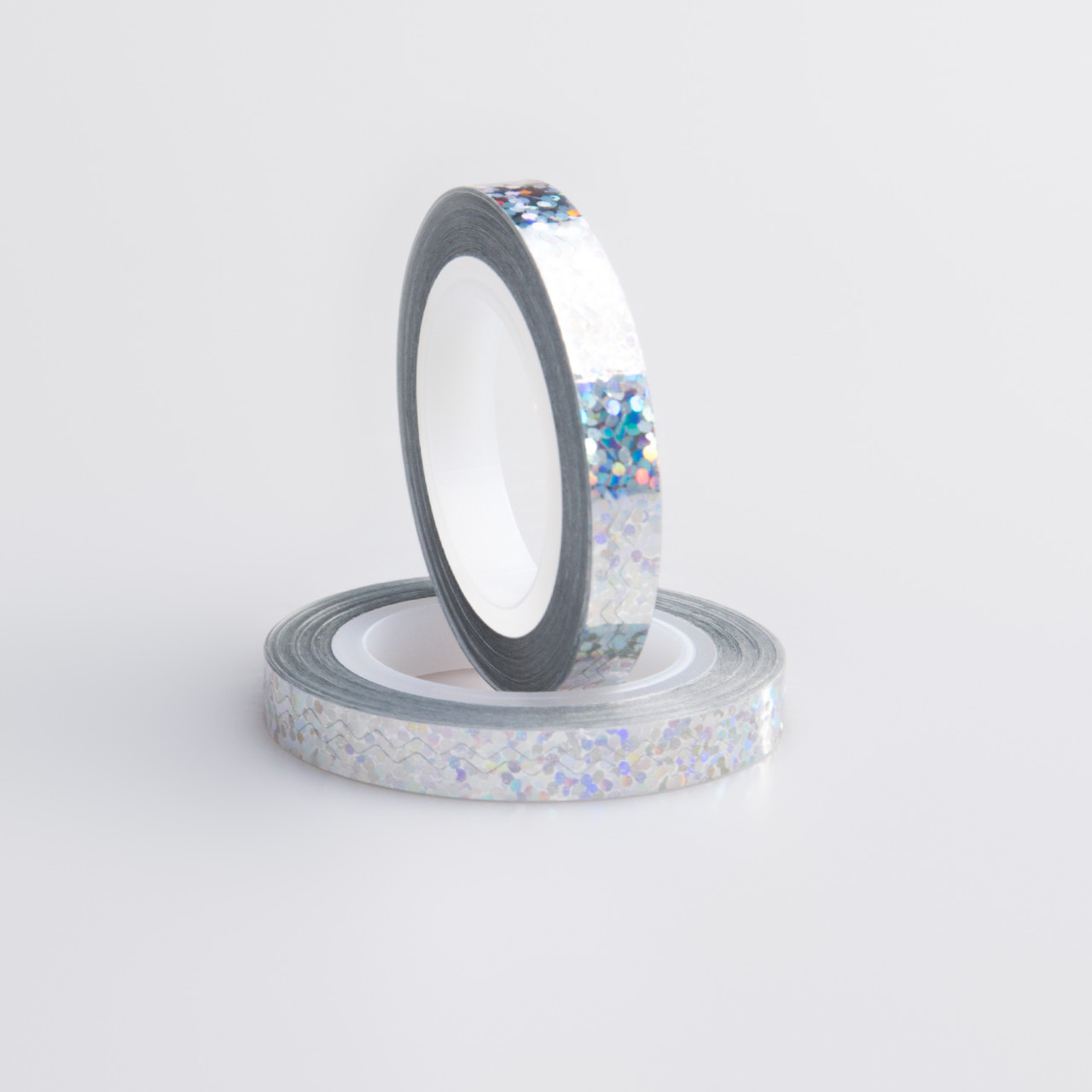 """Цветная декоративная лента """"Ромбики"""" для дизайна ногтей, цвета в ассортименте"""