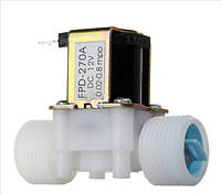 Электромагнитный клапан для горячей воды 12В, 220В 3/4 дюйма