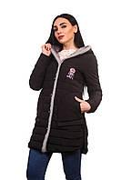 Женская куртка К-018 Черный