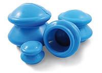 Банки резиновые массажные вакуумные  уп.-4 шт., фото 1