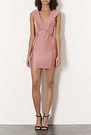 Облегающее мини платье Topshop