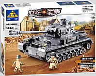 Конструктор Kazi Военный танк KY82010
