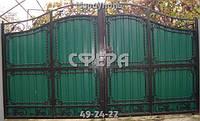 """Ворота """"Зеленая поляна"""""""