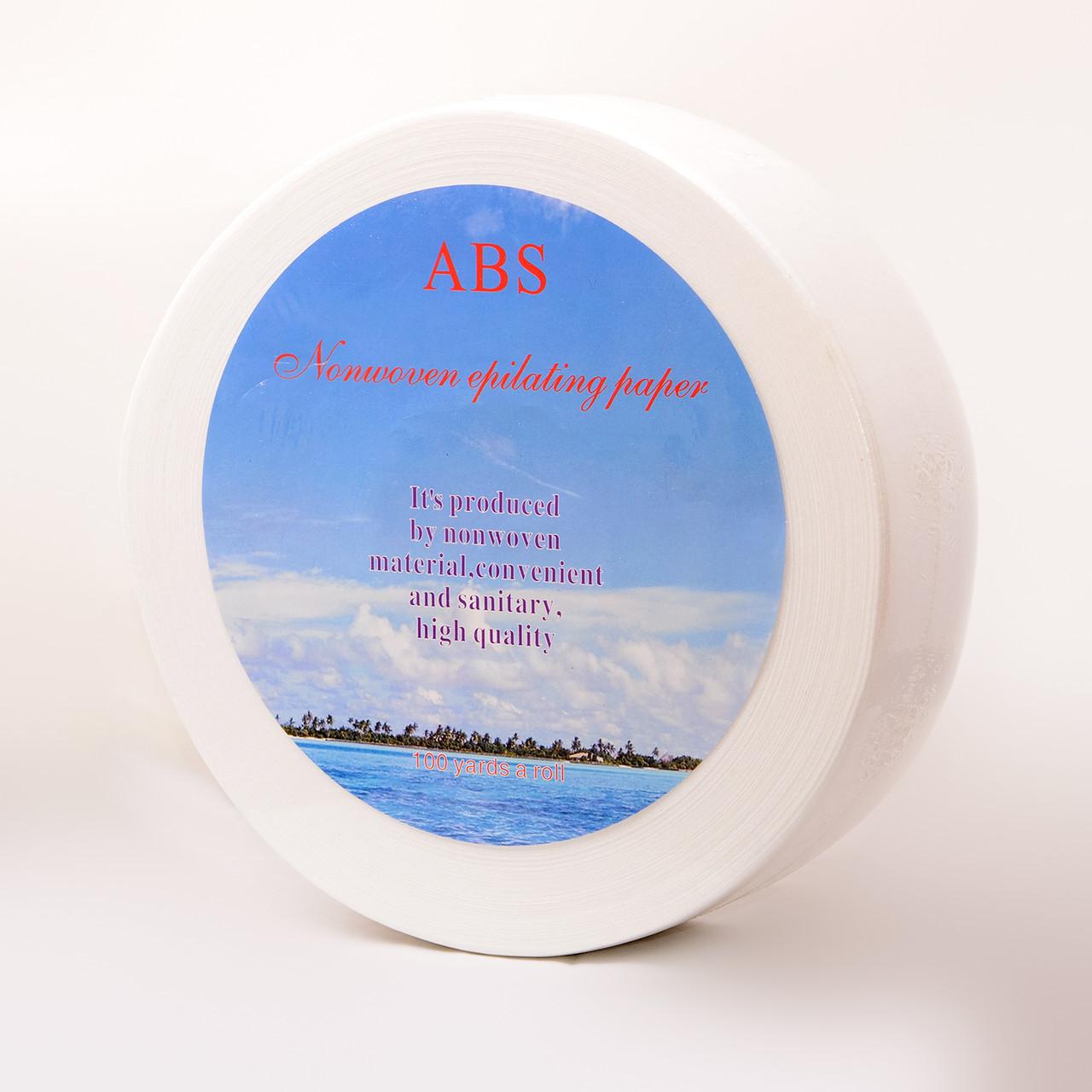 Бумага для депиляции в рулоне ABS