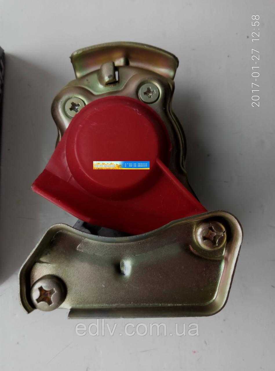 Головка з'єднувальна М22х1.5 б/к червона (RIDER) RD 48014C