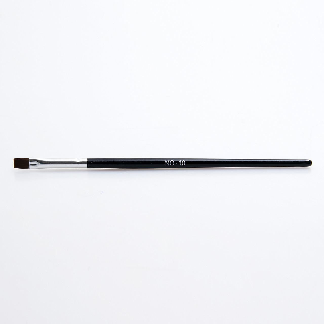 Кисти для геля №10, черная ручка