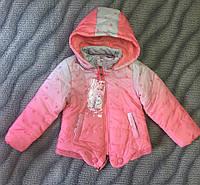 Куртка для девочек 3-8 лет (маломерят)