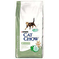 Cat Chow sterilized  для стерилизованных кошек 15 кг