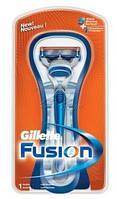 """Станок Gillette """"Fusion"""" (1)  с подставкой"""