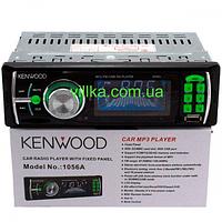 Магнитола автомобильная Kenwood 1056A ISO USB MP3, автомагнитола 1 din