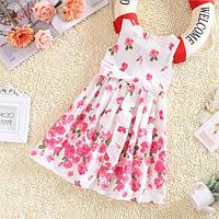 Платье Цветочное для девочки