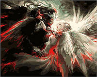 Рисование по номерам Mariposa Ангел и Демон (MR-Q223) 40 х 50 см