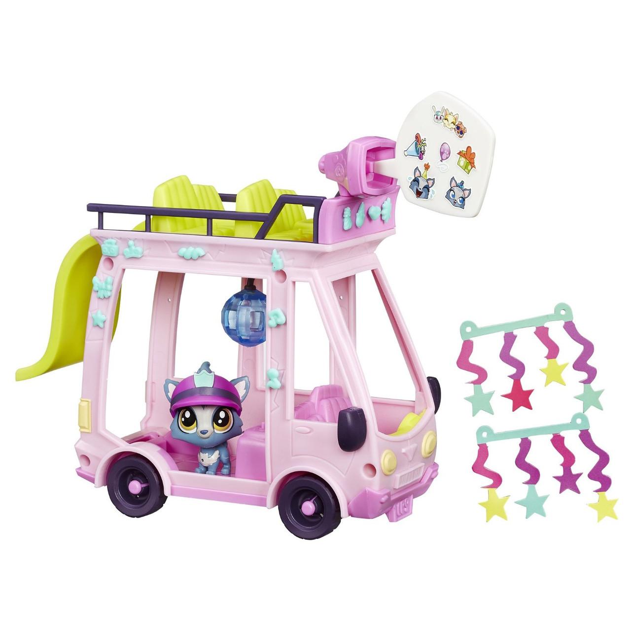 Игровой набор Hasbro Littlest Pet Shop Автобус Shuttle, фото 1