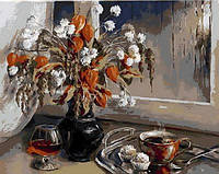 Картина-раскраска Mariposa Кофе с коньяком Худ Воробьева Ольга (MR-Q985) 40 х 50 см