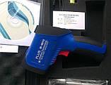 Пирометр FLUS IR-861U (-50…+1150 ºC; EMS 0,1-1,0) ПО, Кейс (50:1), фото 4