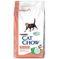 Cat Chow sensitive сухой корм для чувствительных кошек 15 кг