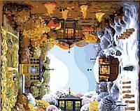 Картина по цифрам Mariposa Четыре времени года (MR-Q2091) 40 х 40 см