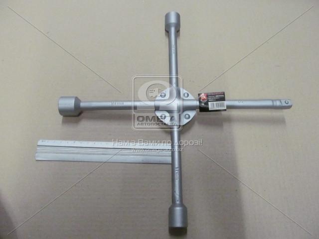 Ключ крест., усиленный, с центр. пластиной, Дорожная Карта DK2811-4