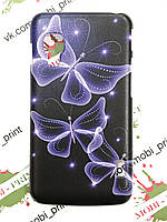 Чехол для LG Optimus L5 II Dual E455 (Бабочки)