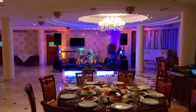 Корпоративный праздник в отеле PLATIUM 3