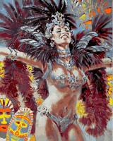 Раскраска по номерам DIY Babylon Огни карнавала Худ Алексей Лашкевич (VP637) 40 х 50 см