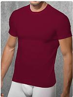 Мужская футболка Doreanse 2550 бордовый, фото 1